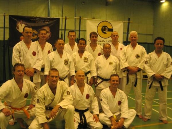 Jundokan Goju Ryu seminar Engeland