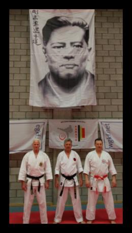 België 2018, Henk, Pieter Harms en Hubert Laenen.