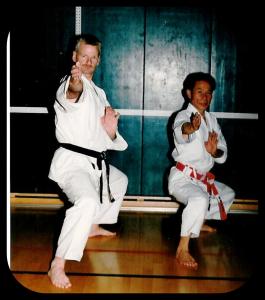 Tadanori Nobetsu en Henk. Ong 1985