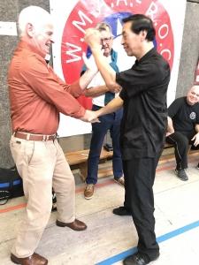 Samuel Kwok. 2e generatie Wing Chun. 2017