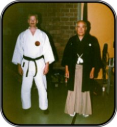 Yamaguchi sensei,  ong. 1990. Japan.