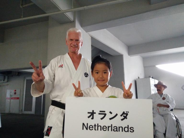 2018, Okinawa, Japan. De seminars op de wereldkampioenschappen.